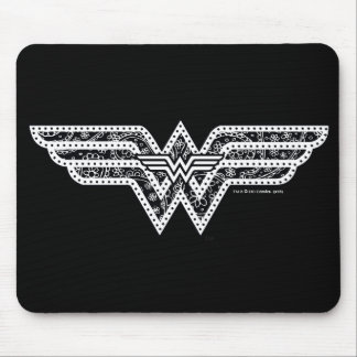 Wonder Woman Paisley Logo Mouse Mat