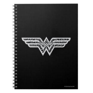 Wonder Woman Paisley Logo Notebooks