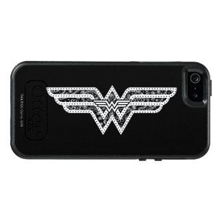 Wonder Woman Paisley Logo OtterBox iPhone 5/5s/SE Case