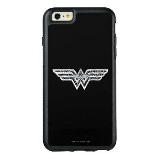 Wonder Woman Paisley Logo OtterBox iPhone 6/6s Plus Case