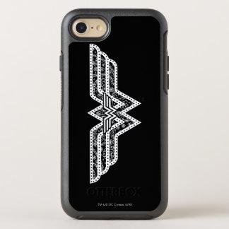 Wonder Woman Paisley Logo OtterBox Symmetry iPhone 8/7 Case
