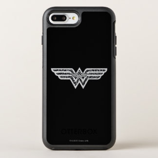 Wonder Woman Paisley Logo OtterBox Symmetry iPhone 8 Plus/7 Plus Case