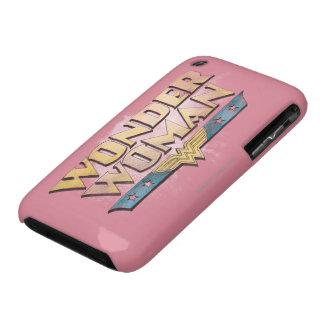 Wonder Woman Pencil Logo Case-Mate iPhone 3 Case