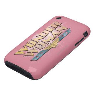 Wonder Woman Pencil Logo iPhone 3 Tough Covers