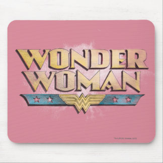Wonder Woman Pencil Logo Mouse Pad