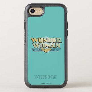Wonder Woman Pencil Logo OtterBox Symmetry iPhone 8/7 Case