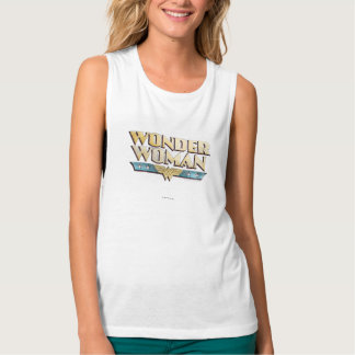 Wonder Woman Pencil Logo Tank Top