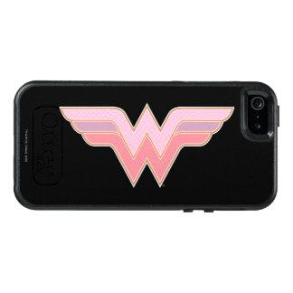 Wonder Woman Pink and Orange Mesh Logo OtterBox iPhone 5/5s/SE Case