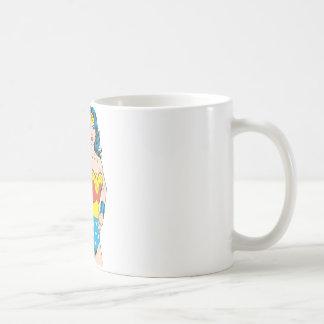 Wonder Woman Portrait Basic White Mug