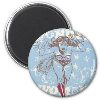 Wonder Woman Pow Magnet