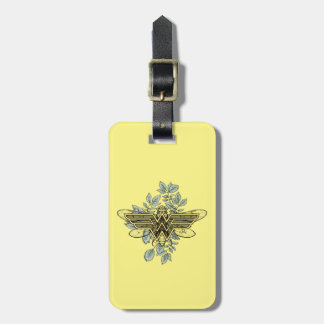 Wonder Woman Queen Bee Logo Luggage Tag