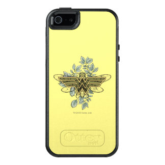 Wonder Woman Queen Bee Logo OtterBox iPhone 5/5s/SE Case