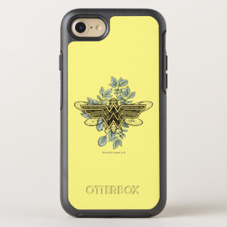 Wonder Woman Queen Bee Logo OtterBox Symmetry iPhone 8/7 Case