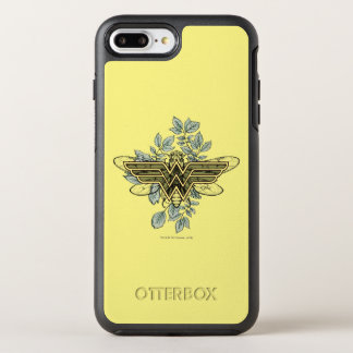 Wonder Woman Queen Bee Logo OtterBox Symmetry iPhone 8 Plus/7 Plus Case