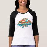 Wonder Woman Rainbow Clouds 1 T-shirt