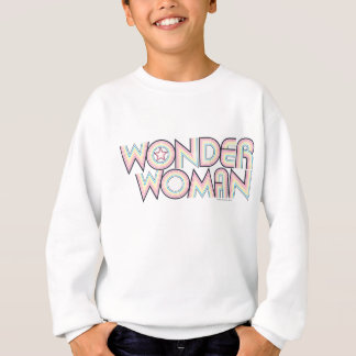 Wonder Woman Rainbow Logo Sweatshirt