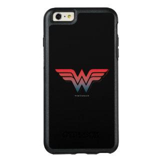 Wonder Woman Red Blue Gradient Logo OtterBox iPhone 6/6s Plus Case