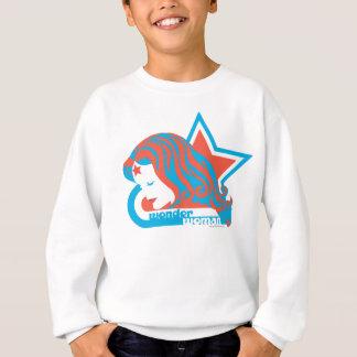 Wonder Woman Red & Blue Star Sweatshirt