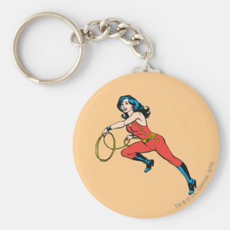 Wonder Woman Red Outfit Key Ring