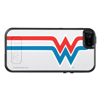 Wonder Woman Red White and Blue Logo OtterBox iPhone 5/5s/SE Case