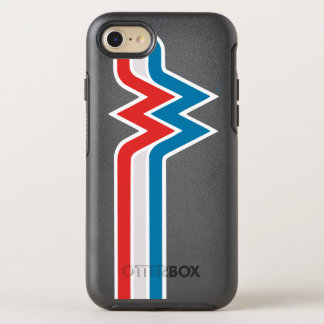 Wonder Woman Red White and Blue Logo OtterBox Symmetry iPhone 8/7 Case