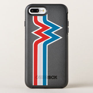 Wonder Woman Red White and Blue Logo OtterBox Symmetry iPhone 8 Plus/7 Plus Case