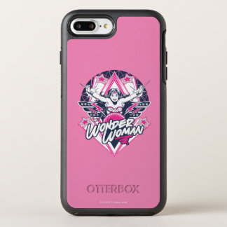 Wonder Woman Retro Glam Rock Graphic OtterBox Symmetry iPhone 8 Plus/7 Plus Case