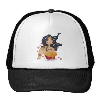 Wonder Woman Retro Profile Sunburst Cap