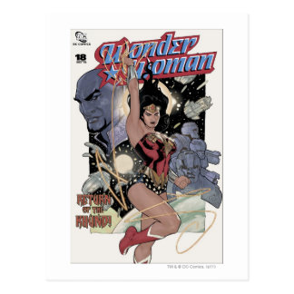 Wonder Woman Return of the Khundi Color Post Cards