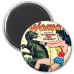 Wonder Woman Runaway Time Express 6 Cm Round Magnet