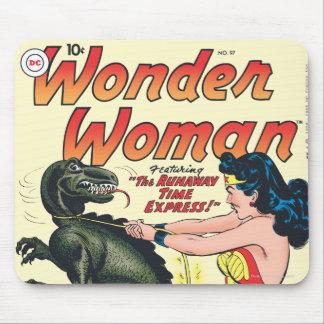 Wonder Woman Runaway Time Express Mouse Pad