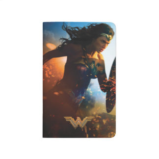 Wonder Woman Running on Battlefield Journal