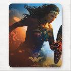 Wonder Woman Running on Battlefield Mouse Mat