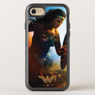 Wonder Woman Running on Battlefield OtterBox Symmetry iPhone 8/7 Case