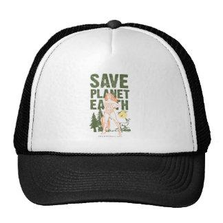 Wonder Woman Save Planet Earth Cap