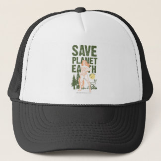 Wonder Woman Save Planet Earth Trucker Hat