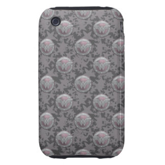 Wonder Woman Shield Pattern Tough iPhone 3 Case