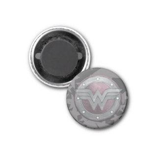 Wonder Woman Shield Pattern Magnet