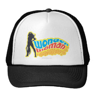 Wonder Woman Silhouette Cap