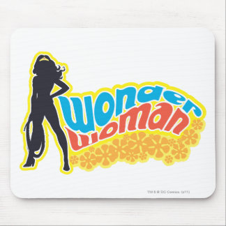 Wonder Woman Silhouette Mouse Mat