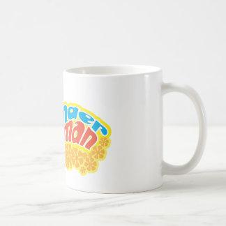 Wonder Woman Silhouette Basic White Mug