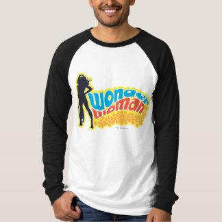 Wonder Woman Silhouette Tee Shirts