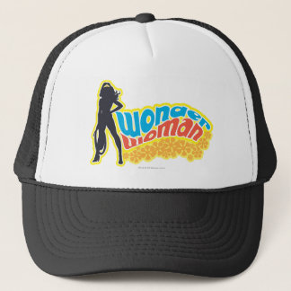 Wonder Woman Silhouette Trucker Hat