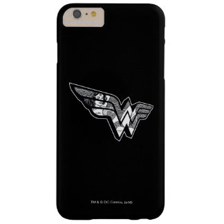 Wonder Woman Sitting In Angled Lace Logo Barely There iPhone 6 Plus Case