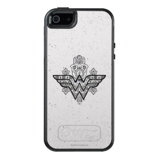 Wonder Woman Spiritual Paisley Hamsa Logo OtterBox iPhone 5/5s/SE Case