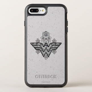 Wonder Woman Spiritual Paisley Hamsa Logo OtterBox Symmetry iPhone 7 Plus Case