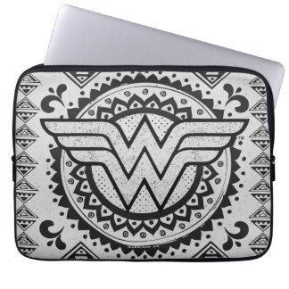 Wonder Woman Spiritual Tribal Design Laptop Sleeve