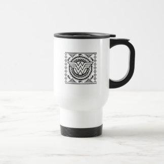 Wonder Woman Spiritual Tribal Design Travel Mug