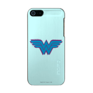 Wonder Woman Spray Paint Logo Incipio Feather® Shine iPhone 5 Case