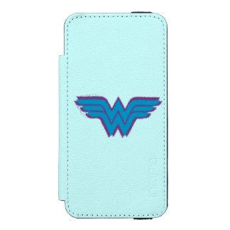 Wonder Woman Spray Paint Logo Incipio Watson™ iPhone 5 Wallet Case